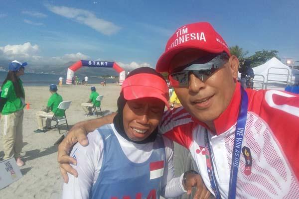 Dea Salsabila Persembahkan Medali Buat Kedua Orang Tua