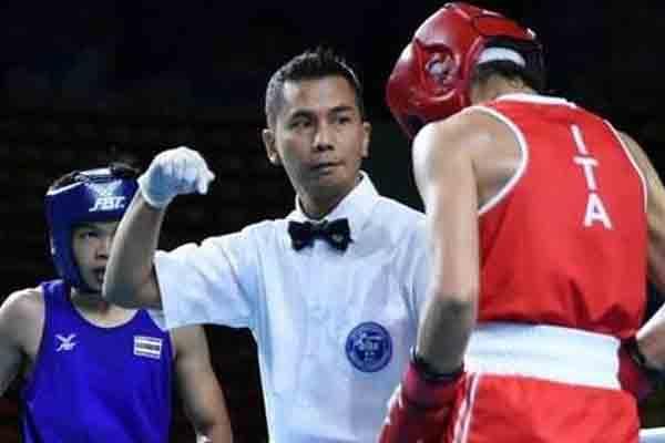 Boy Pohan Jadi Wasit Hakim Tinju Pertama Indonesia Memimpin di Olimpiade - iMSPORT