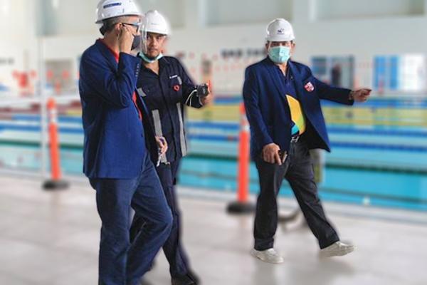 Venue Aquatic Untuk PON Rampung dan Lolos Sertifikasi Internasional - iMSPORT