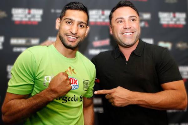 Oscar De La Hoya Ingin Naik Ring Lagi, Amir Khan Layangkan Tantangan - iMSPORT