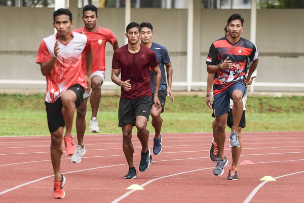 Pelatnas Atletik Tetap Berjalan Meski Jakarta Kembali PSBB - iMSPORT