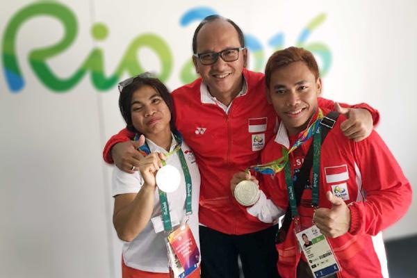 Janjikan Emas di Olimpiade Tokyo Rosan P. Roeslani Pimpin PB PABSI - iMSPORT