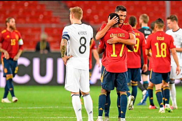 Dipermalukan Spanyol 6-0 Jerman Cuma Bisa Kecewa - iMSPORT