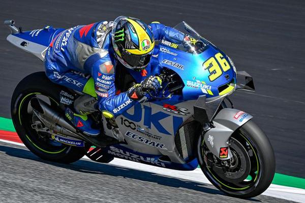 Joan Mir Optimistis Bisa Meningkat di MotoGP Valencia Hari Ini - iMSPORT