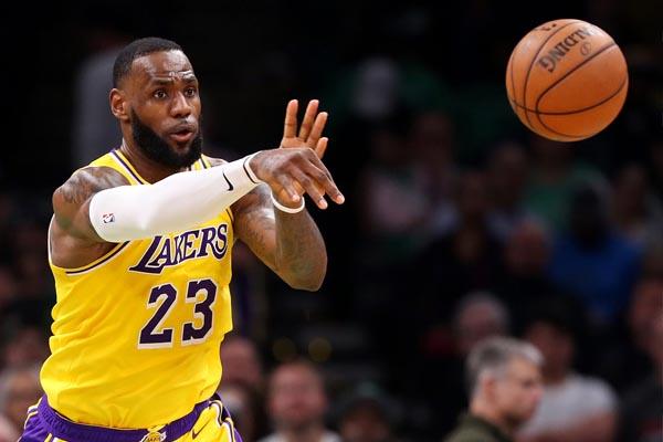 LeBron James Perpanjang Kontrak Rp 1,2 T dengan LA Lakers - iMSPORT.TV