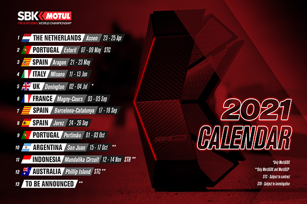 Sirkuit Mandalika Masuk di Kalender World Superbike Championship 2021 - iMSPORT