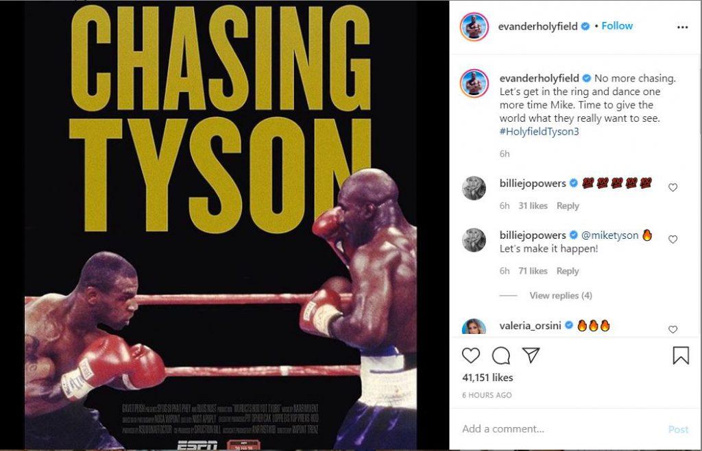 evander holyfield vs Mike Tyson - iMSPORT.TV