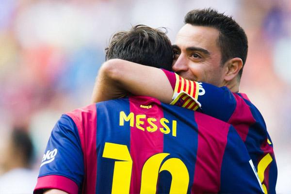 Font yakin Xavi akan bantu Lionel Messi Tetap Berkarier di Barcelona - iMSPORT.TV