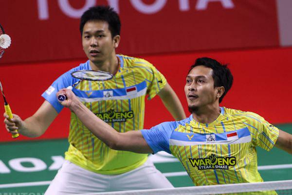 Hasil Thailand Open 2021 Ahsan Hendra berhasil menembus Perempat Final - iMSPORT.TV
