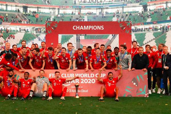 Bayern Munchen Sukses Menangkan Enam Trofi Gelar Juara - iMSPORT.TV