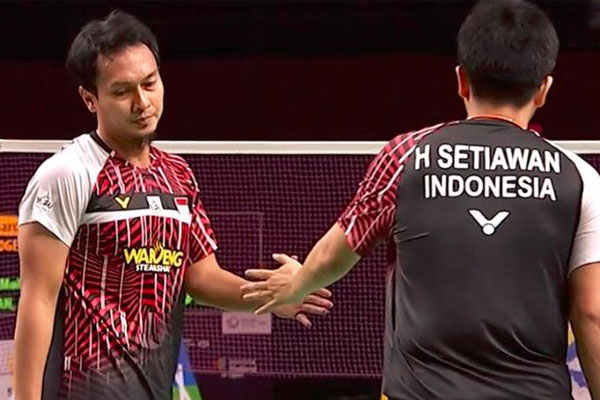 Herry IP Ahsan Hendra sudah Maksimal di BWF World Tour Finals - iMSPORT.TV