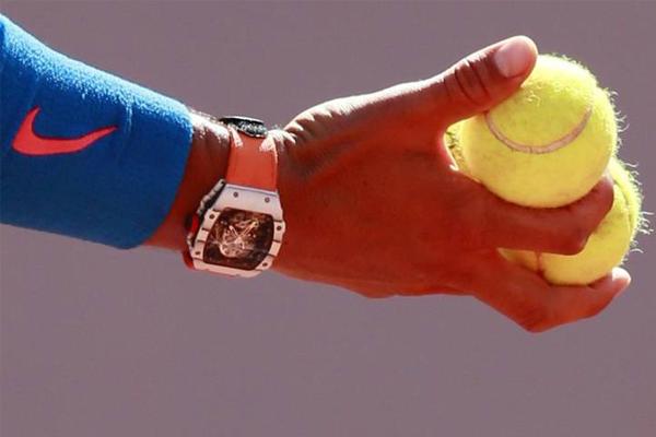 Jam tangan Richard Mille Rafa Nadal - iMSPORT.TV