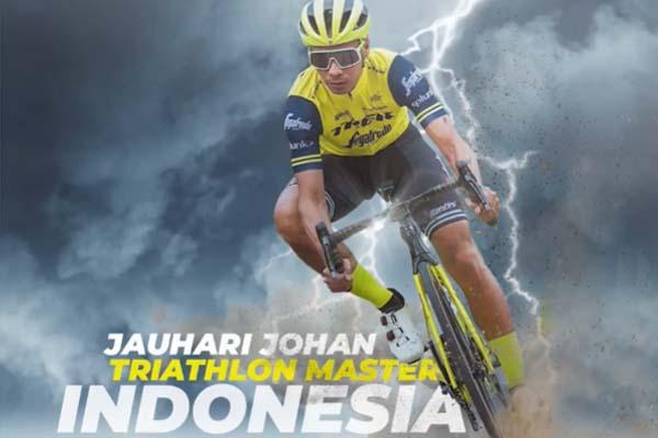 Jauhari Johan Triathlon Master Indonesia - iMSPORT.TV