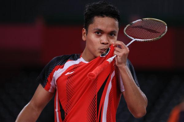 Amankan Tiket Perempat Final, Anthony Coba Tampil Enjoy - iMSPORT.TV