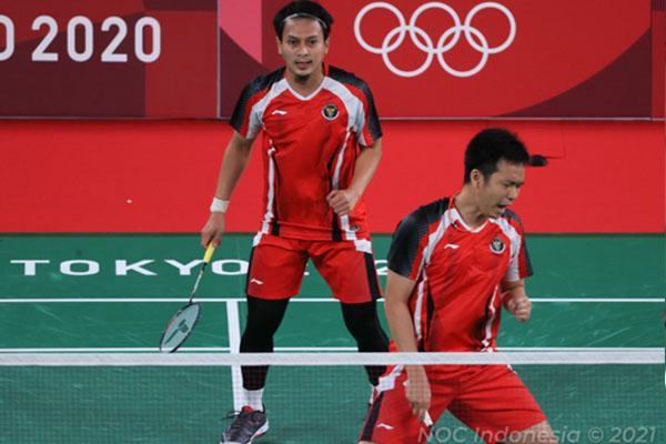 Hasil Bulutangkis Indonesia di Olimpiade Tokyo 2020 Hari ini 26 Juli 2021 - iMSPORT.TV