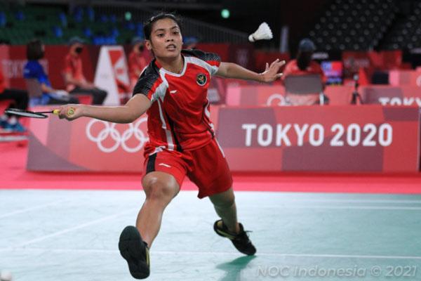Takluk dari Ratchanok, Langkah Gregoria Terhenti di 16 Besar Olimpiade Tokyo 2020 - iMSPORT.TV
