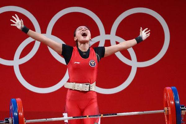 Medali Cantika Pembuka Jalan Sukses Indonesia di Olimpiade Tokyo - iMSPORT.TV