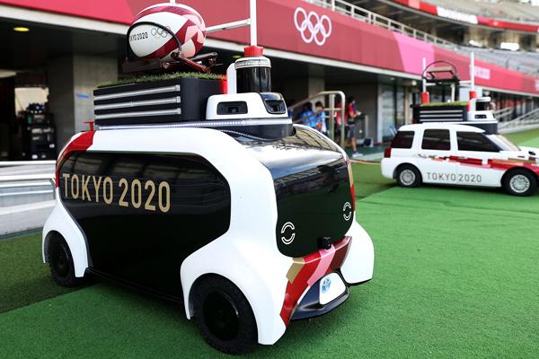 Mobil Pengganti Peran Ballboy di Olimpiade dan Paralimpiade Tokyo 2020 - iMSPORT.TV