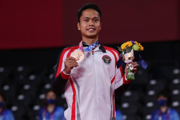 Perunggu Anthony Menjadi Penutup Manis Penampilan Indonesia di Olimpiade Tokyo - iMSPORT.TV