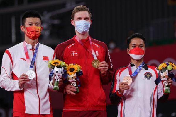 Raih Medali ! Ginting Akhiri Puasa Medali Tunggal Putra di Olimpiade - iMSPORT.TV