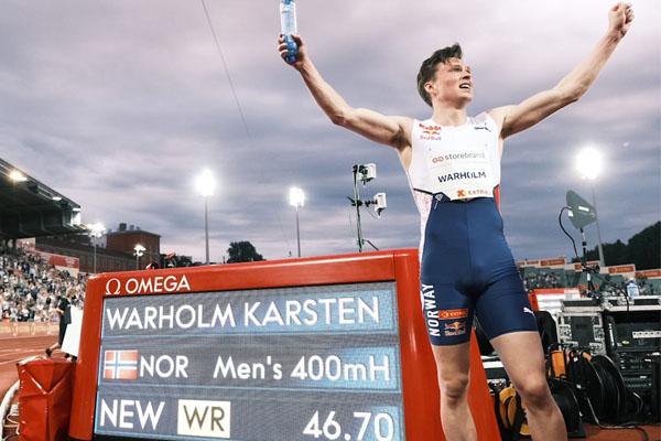 Warholm Pecahkan Rekor Lari Gawang 400m di Olimpiade Tokyo 2020 - iMSPORT.TV