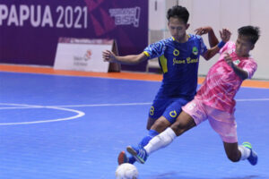 Futsal Grup B Jawa Barat vs Banten PON XX Papua 2021 - iMSPORT.TV