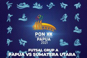 Highlight Futsal Grup A Papua vs Sumatera Utara PON XX Papua 2021 - iMSPORT.TV