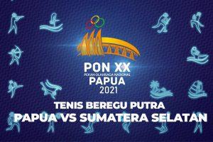 Live ! TENIS Beregu Papua vs Sumatera Selatan PON XX Papua 2021 - iMPSORT.TV